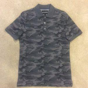 BANANA REPUBLIC Camo Polo T-Shirt